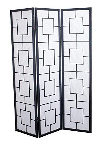 Fine asianliving divisor de espacios–Biombo plegable Protector d