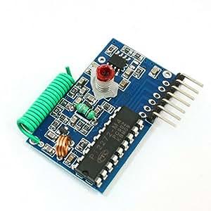 PT2272-M4 Transmission de données Module 250-450MHz récepteur RF DC 5V