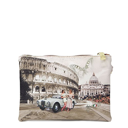 Y NOT? DAMEN TASCHE POCKET HANDLE SMALL J-342 Life in Rome