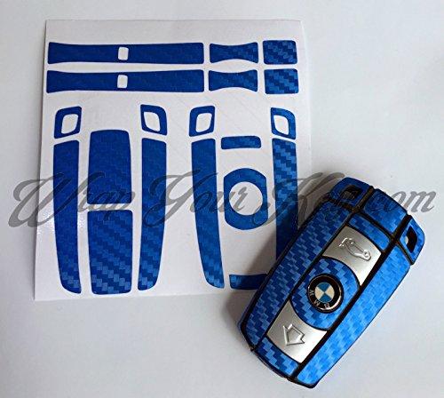 blue-carbon-fiber-key-fob-wrap-cover-overlay-bmw-1-3-5-6-series-z4-x1-3-x5-x6-m