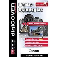 digiCOVER Hybrid Glas Displayschutz Canon EOS 1300D