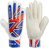 Vector X Ultimax Goalkeeping Gloves (Blue, White, Red)