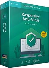 Kaspersky Anti-Virus 2019 (Code in a Box) Mini Box|Standard|1|1 Jahr|PC|Download|Download