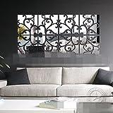 GKRY-Wohnzimmer Schlafzimmer Eingang Korridor TV Wand Fresko DekorationDie spiegelwand Kombination 20cmx80cm,??