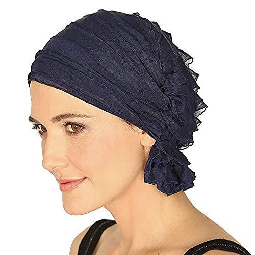 Fascigirl Turban Damen, Kopfbedeckung Turban Sommer Hut Chemo Kopfbedeckungen Headwear Muslim Kopftuch Turban Mütze Beanie