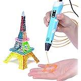 3D Stylo d'impression, artisanat 3D décorateur maison pour amateur de modèle graffiti enfant avec 2bags filament gratuit