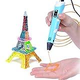 Magichome 3D Stift Set 3D Pen Set 3D Drucker Stift Intelligent mit LCD-Bildschirm DIY Scribbler Kompatibel 1.75 mm ABS und PLA Filament