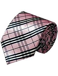 Navaksha Men's Checks Design Polyester Ties