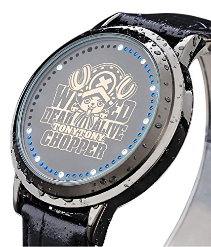 One Piece Anime Reloj LED