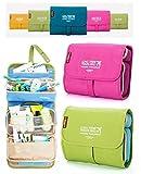 ShopAIS MutiPurpose Foldable Long Term Travel Bag Organizer With 2 Detachable Pouches