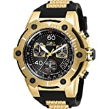 Invicta Bolt Herren-Armbanduhr Armband Kunststoff Gold Schweizer Quarz 25874