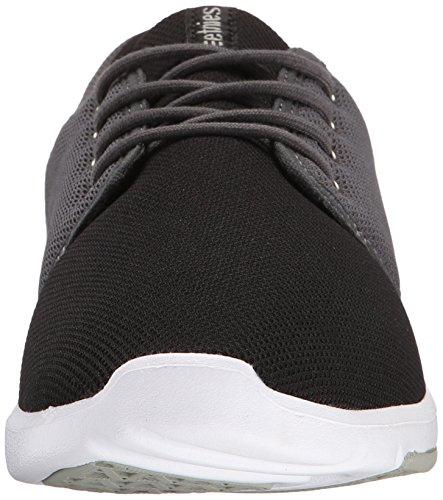 Etnies  SCOUT, Chaussures de Skateboard homme Noir - Schwarz (BLACK/DARK GREY/SILVER/562)