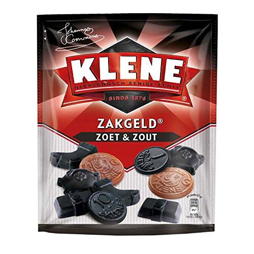 Klene Zakgeld Drop Zoet & Zout / Gemischte Tüte Süß und salzige Lakritz aus Holland 250g (Drop Holländischen Lakritz)