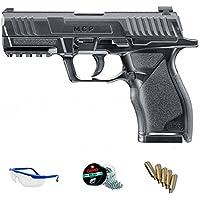 PACK pistola de aire comprimido de balines de acero BBs Umarex UX MPC calibre 4.5mm <3,5J