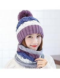 Sciarpe XIAOXIAO Cappello Inverno Impostato Tenere Caldo Tempo Libero  Selvaggio Inverno Cappelli di Guida Bello Ispessimento 51461bd9a61a