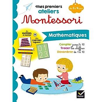 Montessori Mathématiques 3-4 ans
