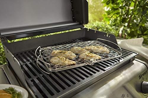 51k6 xoJM3L - Weber® Fisch- und Gemüsehalter, groß