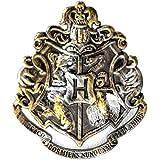 Harry Potter Hogwarts Crest Gunmetal Pin Badge (accesorio de disfraz)