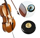 risingmed rutschfeste Cello Matte, Cello oder Bass Rock Stop End Pin Ständer Halter Schwarz