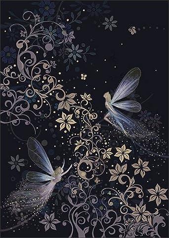 Blank / Birthday Greeting Card (BA0943) - Fairyland - Gold
