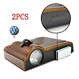 Saflyse 2PCS Auto Tür Drahtlose Logo Shadow LED Auto-Lampe Türbeleuchtung Welcome Light für BMW, Mercedes, Audi, Porsche, smart, VW etc (6)