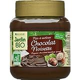 Jardin Bio - Pâte à tartiner, noisettes et cacao - Le pot de 350g