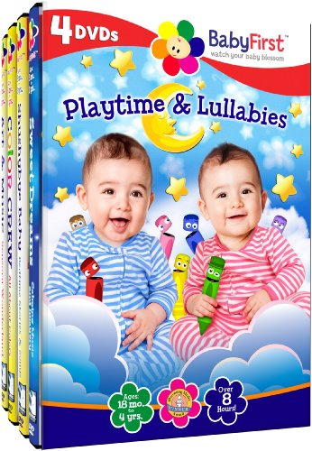 & Lullabies (4pc) [DVD] [Region 1] [NTSC] [US Import] (Baby Lullaby Dvd)
