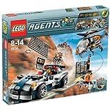 LEGO - 8634 - Jeu de construction - Agents - Mission 5: La poursuite en voiture turbo