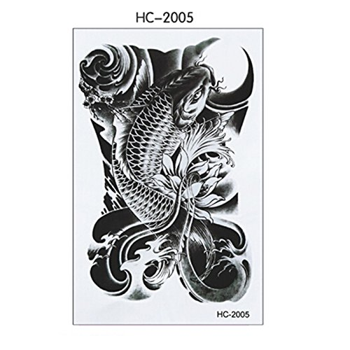 soxid-tm-100-schwarz-fisch-herren-temporare-tattoo-aufkleber-auf-der-body-art-wasserdicht-tattoos-3d