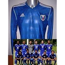 Adidas República Dominicana Manga Larga Camiseta Jersey fútbol Adulto XL Maglia – Camiseta de ...