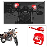 #1: Enfieldzone 2+2 Led Red Bike Light With Flashing Mode Motorcycle Led For All Royal Enfield