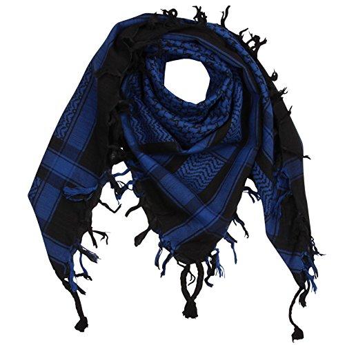 53b882b525c226 Superfreak® Palituch Grundfarbe schwarz°PLO Schal°100x100 cm°Pali  Palästinenser Arafat Tuch