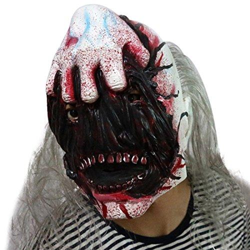 Jiyaru Halloween Schrecklich Maske Clownsmaske Latexmaske für Party Kostüm #3