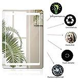 POPSPARKk Badspiegel LED Beleuchtung Wandspiegel Badezimmerspiegel mit Infrarotschalter Anti-Beschlag-Funktion Kupferfreier Quecksilber Spiegel (80, 60)