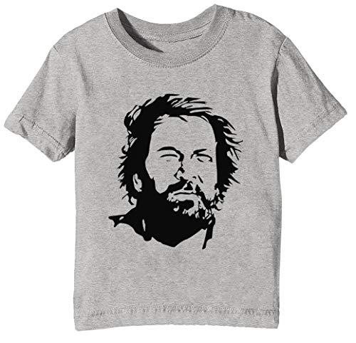 Alt Zeit Knospe Unisex Jungen Mädchen T-Shirt Rundhals Grau Kurzarm Größe M Kids Boys Girls Grey T-Shirt Medium Size M - Spaghetti-mädchen-shirt