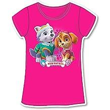 Paw Patrol-Camiseta Camiseta Corta Manga-Skye y Everest-Niña-, novedad, producto original 755-169