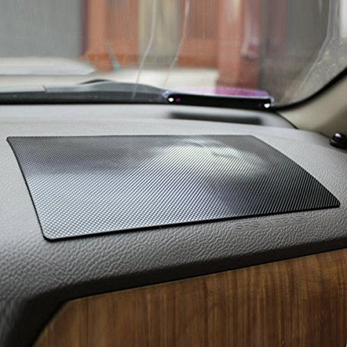 SHUYIT KFZ Anti Rutsch Matte hitzebeständig Auto Anti-Rutsch Pad klebrig Pad Silikon Armaturenbrett Anti Rutsch Matte Pad für Handys, Schlüssel, Brille, Münzen, MP4,GPS usw (270 * 150 mm)