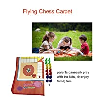 Swiftswan Flying Chess Carpet Flight Game Simple Lu Tao Parent-Child Game Board Game Flying Plane Carpet Home Entertainment Game