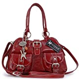 CATWALK COLLECTION - FAITH - Bolso de mano - Cuero - Rojo