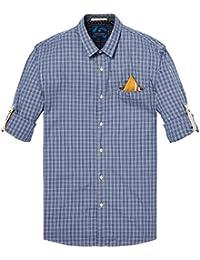 2018 Top Design Scotch & Soda Herren Hemd Longsleeve shirt