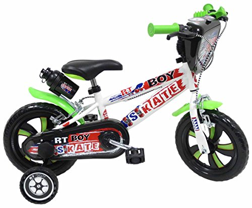 Denver 15125-RT Boy Skate Fahrrad, 30,48 cm (12Zoll) (Zoll 12 Fahrrad Boys)