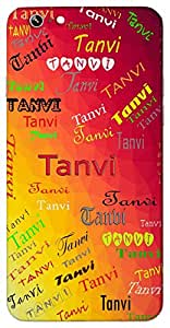 Tanvi (Beautiful Goddess Durga) Name & Sign Printed All over customize & Personalized!! Protective back cover for your Smart Phone : Samsung Galaxy S4mini / i9190