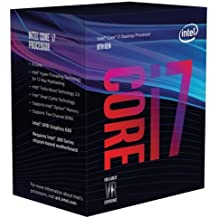 Intel Core i7-8700 Smart Cache Caja - Procesador hasta 4.60 GHz, 8ª generación de procesadores Intel Core i7, 3.2 GHz, 12 MB, LGA 1151 (Socket H4), PC, 14 nm, i7-8700