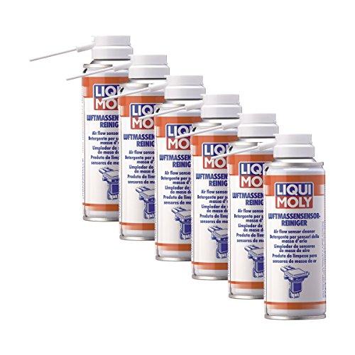 Preisvergleich Produktbild 6x LIQUI MOLY 4066 Luftmassensensor-Reiniger Reinigungsspray 200ml