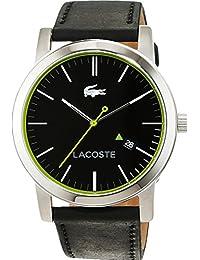 Lacoste Herren-Armbanduhr Analog Quarz Leder 2010847