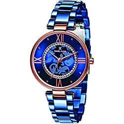Daniel Klein Analog Blue Dial Women's Watch-DK11292-5