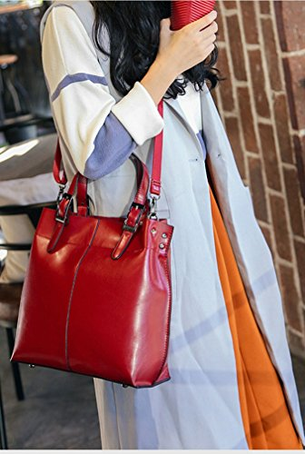 Elezay , Damen Tote-Tasche Rot