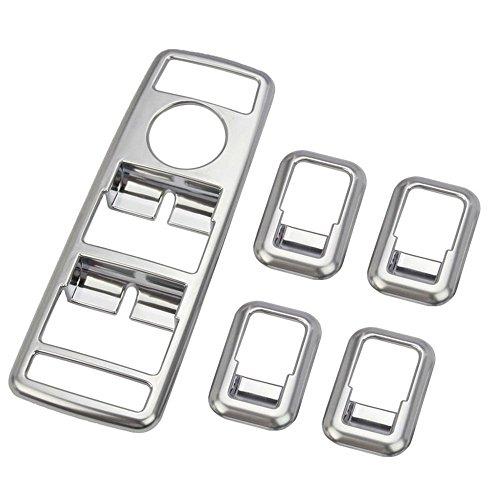 Auto Styling ABS Chrom Fenster Lift Schalter Button Abdeckung Besatz