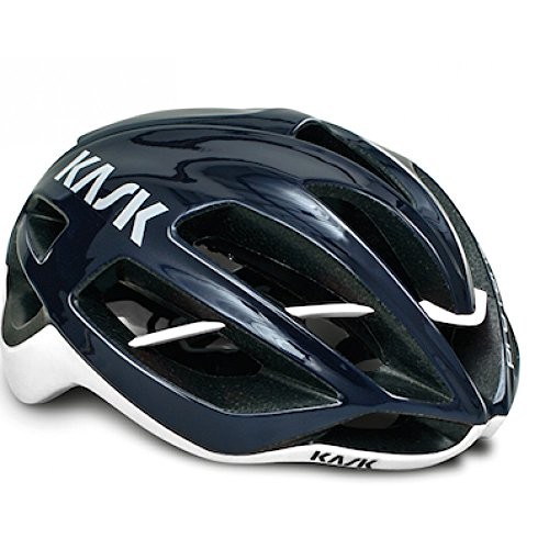 KASK Protone Performance Road Cycling Helmet - Navy Blue/White Medium