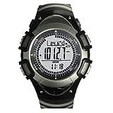 Highplus Reloj SUNROAD Reloj Deportivo FR8204A Altímetro Barómetro Termómetro EL...